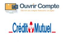 Crédit mutuel ouverture de compte