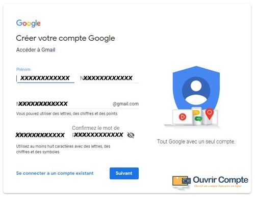 comment créer un compte gmail.com?