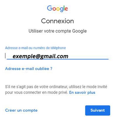 connexion et login gmail.com