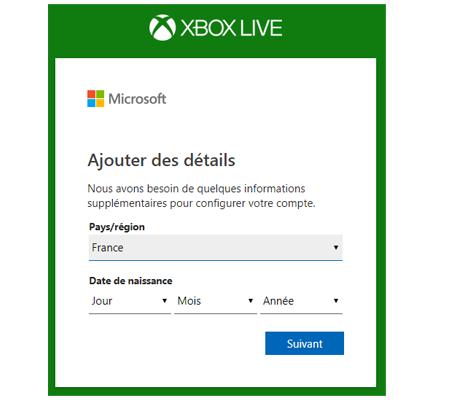 Abonnement xbox live live 1 mois pas cher
