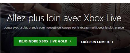 Xbox live gratuit 12 mois