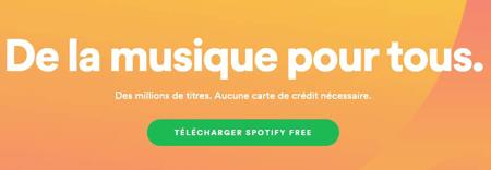 Spotify créer un compte artiste