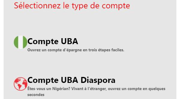 Créer un compte uba en ligne