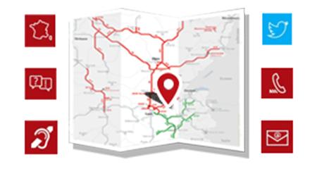 Contacter le service clients des réseaux APRR & AREA