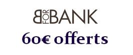 offre de bienvenu Bforbank