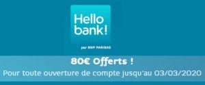 hello bank offre de bienvenu