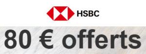 HSBC offre de bienvenu