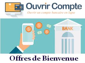 offres de bienvenue banque en ligne