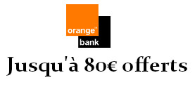 orange bank prime de bienvenu