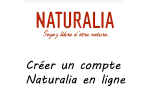 Créer un compte Naturalia en ligne