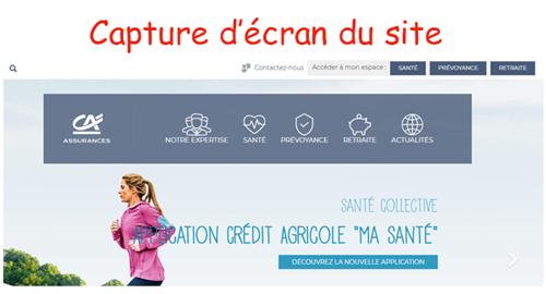 Accéder à ca-masante.fr inscription
