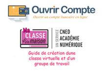 Enregistrer classe virtuelle Cned