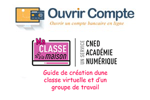 Enregistrer classe virtuelle Cned