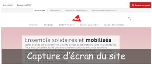 Créer un compte sur maif.fr