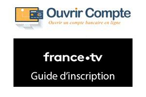 Création d'un compte France tv