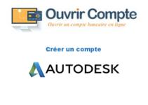Créer un compte autodesk account