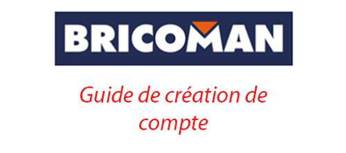 Créer un compte bricoman