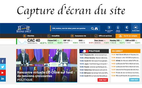 Ouvrir un compte en bourse sur boursedirect.fr