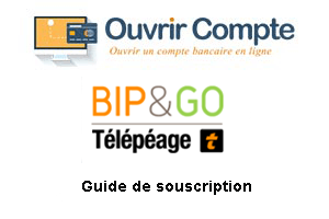 Créer un compte bip and go