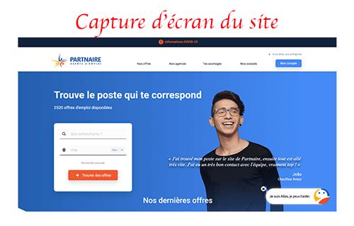 S'inscrire sur partnaire.fr