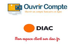 Se connecter à www.diac.fr espace client