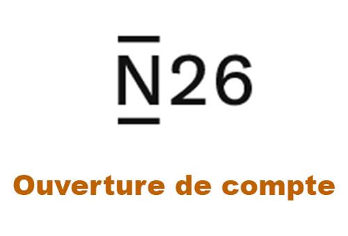 Créer un compte N26