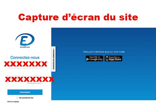 www.ecoledirecte.com réinscription